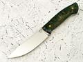 """Нож """"Крейсер"""" сталь Vanadis 10, рукоять стаб. карельская береза"""