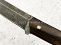 """Нож """"Танто"""" булатная сталь, рукоять зирикот (Тов. Завьялова)"""