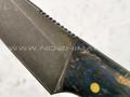 """Нож """"Додичи"""" булатная сталь, рукоять карельская береза (Тов. Завьялова)"""