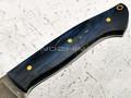 """Нож """"Граф Шереметьев"""" булатная сталь, рукоять карельская береза (Тов. Завьялова)"""