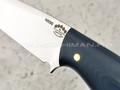 "Нож ""Лис"" сталь N690, рукоять G10 dark grey (Тов. Завьялова)"