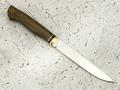 """Нож """"Осётр"""" сталь N690, рукоять морёный дуб (Тов. Завьялова)"""