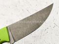 Apus Knives нож Thorn сталь K110, рукоять G10 green