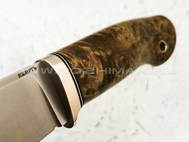 """Нож """"Клык"""" сталь CPM S110V, рукоять кап клёна (Кметь)"""