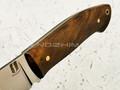"""Нож """"Крейсер"""" сталь M390, рукоять корень ореха (Наследие)"""