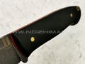 "Нож ""Цезарь"" булатная сталь, рукоять G10 black (Наследие)"