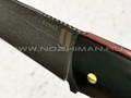 "Нож ""Цезарь-2"" булатная сталь, рукоять G10 black (Наследие)"