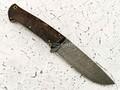 """Нож """"Бригадир"""" дамасская сталь, рукоять карельская береза (Наследие)"""