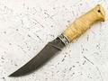"""Нож """"Крысиный зуб"""" сталь ХВ5, рукоять березовый сувель (Наследие)"""