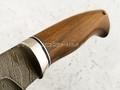 """Нож """"Альфа"""" дамасская сталь, рукоять орех (Наследие)"""