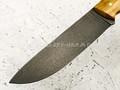 """Нож """"Рабочий"""" булатная сталь, рукоять карельская береза (Наследие)"""