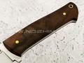 "Нож ""Бригадир"" сталь N690, рукоять корень ореха (Наследие)"