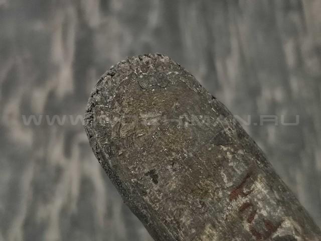 Булатная сталь Михаила Аносова с ТО 63-64 HRC (230x33x5.1 мм) ковка