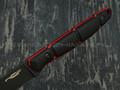 "Нож ""Viper"" сталь X105 blackwash, рукоять G10 black & red"