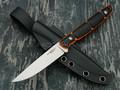 "Нож ""Viper"" сталь X105 satin, рукоять G10 black & orange"