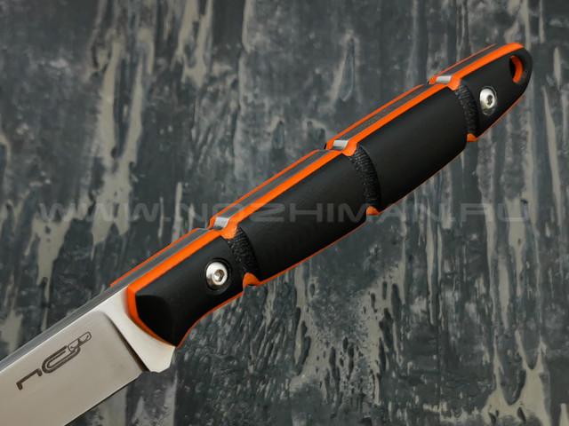 N.C.Custom нож Viper сталь X105 satin, рукоять G10 black & orange