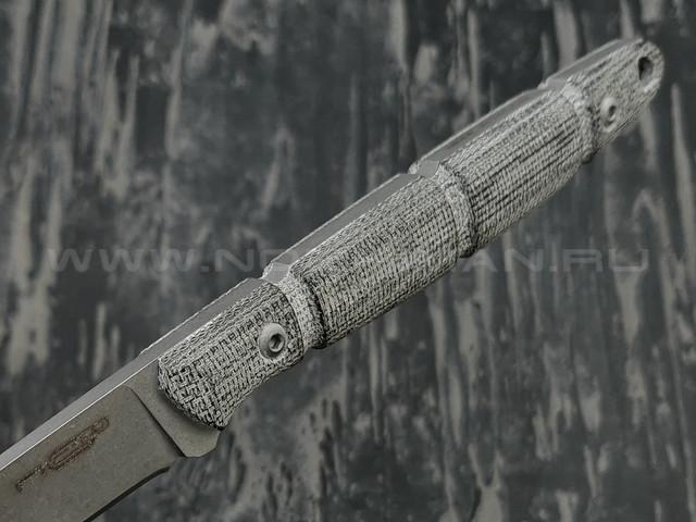 N.C.Custom нож Viper сталь X105 stonewash, рукоять микарта