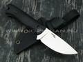 N.C.Custom нож Fang сталь X105 satin, рукоять G10 black