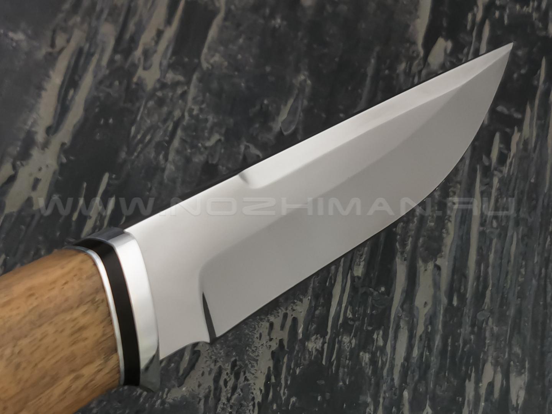 """Нож """"Альфа-Ц"""" сталь 95Х18, рукоять орех (Наследие)"""