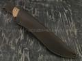 """Нож """"Альфа-Ц2"""" сталь 95Х18, рукоять орех (Наследие)"""