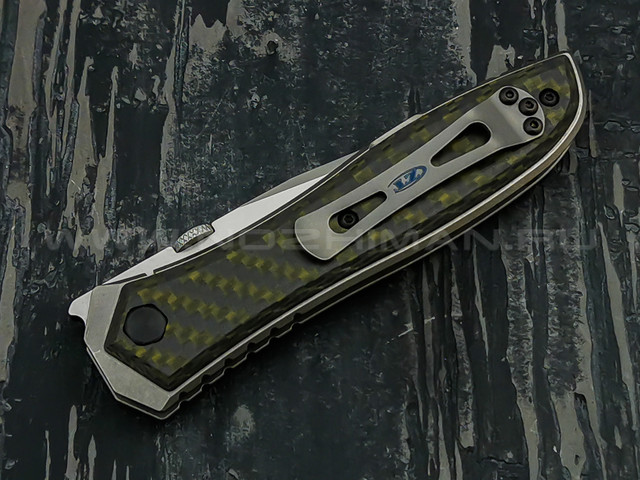 Zero Tolerance нож 0640 Emerson Manual, сталь CPM 20CV, рукоять титан, карбон