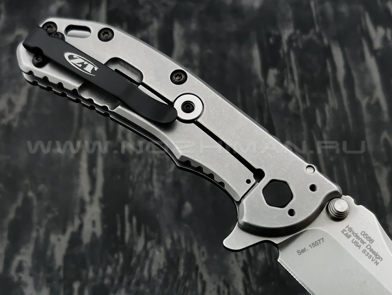 Zero Tolerance нож 0566, сталь CPM S35VN, рукоять титан, G10 black