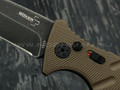Нож Boker Plus Strike Coyote Spearpoint 01BO424, сталь Aus 8, рукоять Aluminum 6061 T-6