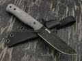"Нож ""Booster"" X105, blackwash, микарта, kydex"