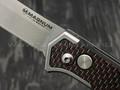 Нож Magnum Rubico Auto 01SC054, сталь 440A, рукоять carbon, steel