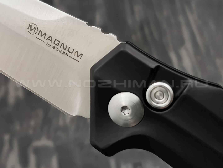 Нож Magnum Final Flick Out Black 01SC062, сталь 440A, рукоять Aluminum
