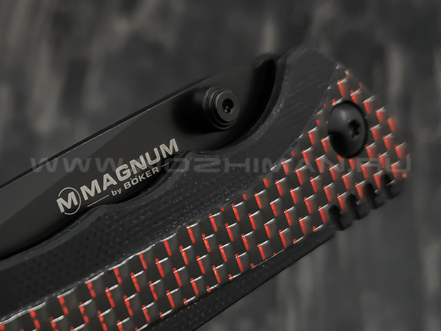 Нож Magnum Rubico 01SC053, сталь 440A, рукоять G10, steel