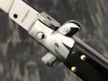 Автоматический нож Magnum Sicilian Needle Dark Wood 01MB278, сталь 440A, рукоять дерево Pakka