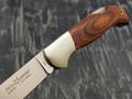 Нож Fox Forest 500, сталь N690Co, рукоять дерево pakka, никель