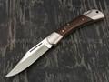 Нож Fox Win 583, сталь 12C27, рукоять дерево палисандр
