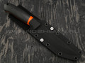 Apus Knives нож Maverick, сталь k110 satin, рукоять микарта, G10 orange