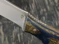 РВС нож Гудкэт, сталь N690 с крио, рукоять микарта