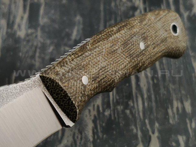 РВС нож Уаз, сталь N690 с крио, рукоять микарта