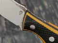 РВС нож Опёнок, сталь M390 с крио, рукоять микарта