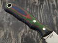 РВС нож Опёнок, сталь N690 с крио, рукоять микарта