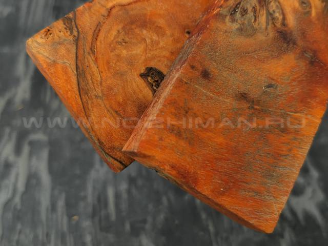Черный тополь стабилизированный №21 плашки