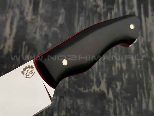 """Нож """"Додичи"""" сталь Sleipner, рукоять G10 black (Тов. Завьялова)"""