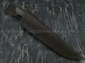 """Нож """"Фидель"""" сталь S390, рукоять граб, зуб мамонта, мельхиор (Тов. Завьялова)"""