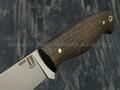 """Нож """"Волжский"""" сталь N690, рукоять морёный дуб (Наследие)"""