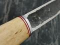 """Нож """"Якут"""" сталь Х12МФ, рукоять карельская береза, дюралюминий (Тов. Завьялова)"""