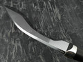 Кукри сталь K340, рукоять граб, мельхиор (Тов. Завьялова)