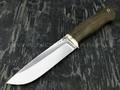 """Нож """"Курган"""" сталь K340, рукоять морёный дуб (Тов. Завьялова)"""