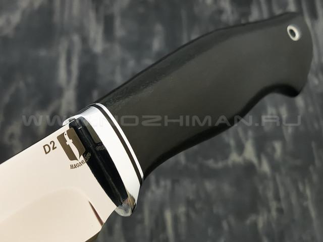 """Нож """"Гефест"""" сталь D2, рукоять граб (Наследие)"""