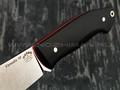 """Нож """"Крейсер"""" сталь Vanadis 10 stonewash, рукоять G10 black (Тов. Завьялова)"""