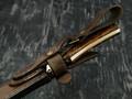 """Нож """"Мияби"""" сталь Vanadis 10, рукоять айронвуд, латунь (Тов. Завьялова)"""