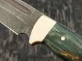 """Нож """"Пустынный орел"""" булатная сталь, рукоять карельская береза (Тов. Завьялова)"""